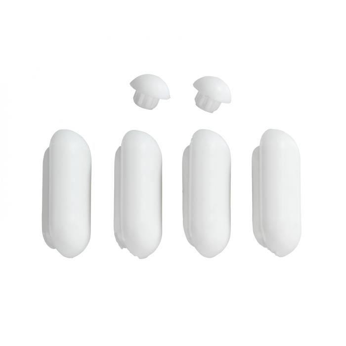 patins pour abattants de wc duroplast acrylique achat. Black Bedroom Furniture Sets. Home Design Ideas