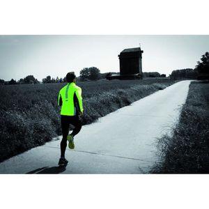 Veste running homme reflechissante