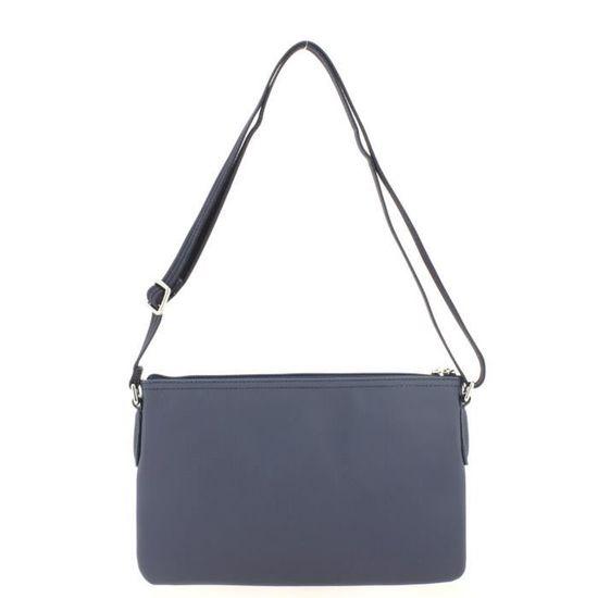 e6c99ec79e Lacoste - Sac bandoulière femme en toile   L.12.12 CONCEPT NF1887PO -  Couleur:Bleu Taille:TU - Achat / Vente valise - bagage 2009348335094 -  Cdiscount