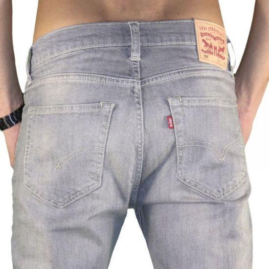 3c2c1a23e9 Levis - Jean - Homme - 508 Slim ... Gris - Achat / Vente jeans - Soldes  d'été Cdiscount