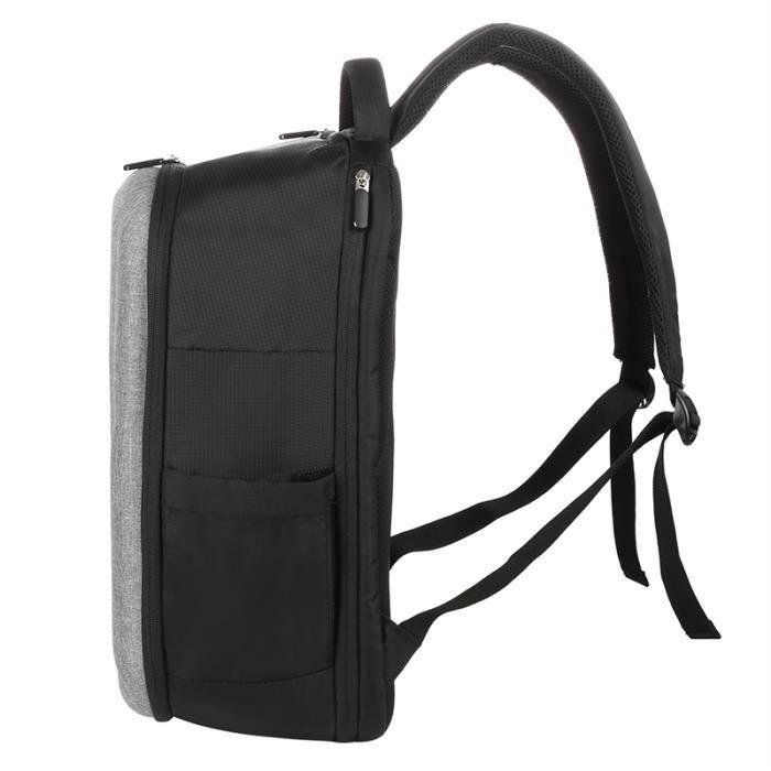 Hommes Femmes Sac à dos pour ordinateur portable, Convient 15,6 « » Ordinateur portable, Gris