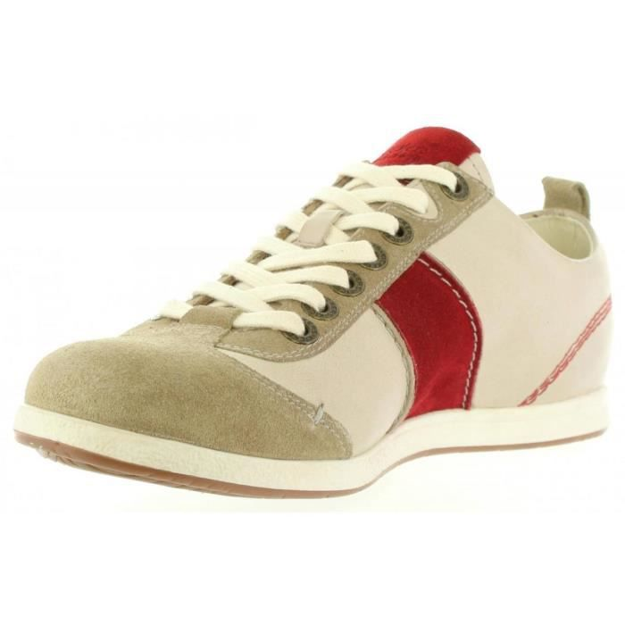Chaussures pour Homme KICKERS 471150-60 BARBOSSA 31 BLANC CASSE