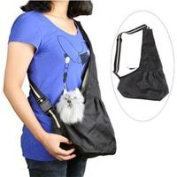 SAC POUR ANIMAL Oxford tissu Sling Pet Chien Puppy Chat Carrier To