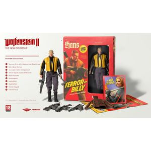 JEU PS4 Wolfenstein II The New Colossus Edition Collector