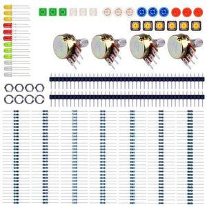 PC ASSEMBLÉ Kit De Démarrage Pour Arduino UNO R3 Mega2560 Mega