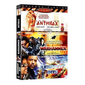 DVD FILM Science Fiction 2 : Anthrax / Wharamer / Judgement
