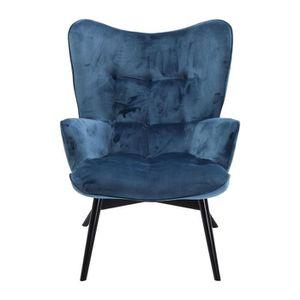 fauteuil vicky velours bleu petrole kare design Résultat Supérieur 50 Inspirant Fauteuil Velours Bleu Marine Stock 2017 Xzw1