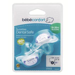 SUCETTE BEBE CONFORT Sucette Dental Safe 18-36 mois x2 - S