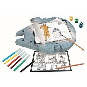 ARDOISE ENFANT STAR WARS -Tablette à dessins Falcon Millenium Cle