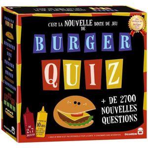 JEU SOCIÉTÉ - PLATEAU Burger Quiz - Jeu de société - DUJARDIN - Nouvelle
