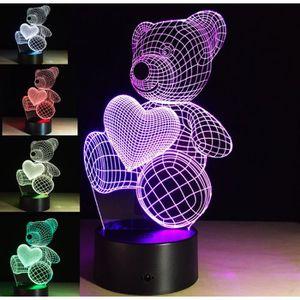 Usb Bureau De Couleurs Lampe Changement 3d Led Nuit Décoration 7 PiZkXOuT