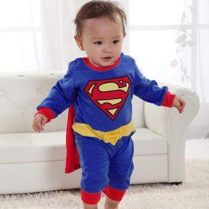 DÉGUISEMENT - PANOPLIE Costume déguisé pour Bébé Combinaison avec Cape Co
