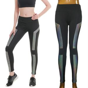 Femmes taille haute Yoga Legging Fitness Course Gym sport stretch ... 999acb59dbb