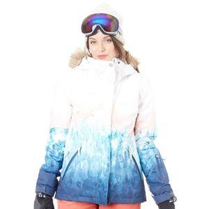 Veste ski roxy blanche