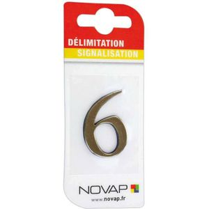 CONE - RUBAN CHANTIER Adhésif plastique en relief coloris or Novap - 6