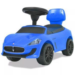 VOITURE ELECTRIQUE ENFANT  Voiture à chevaucher Bleu Maserati 353 Bleu Voitu