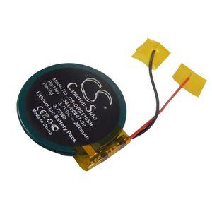 BATT. MONTRE CONNECTÉE vhbw Li-Ion batterie 200mAh pour montre bracelet f