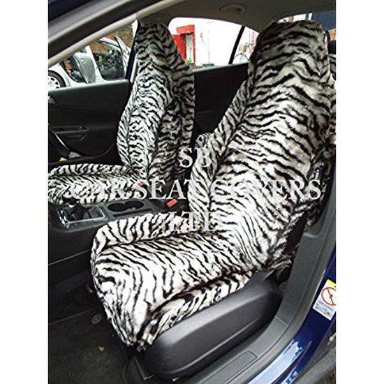 Nissan Juke, Housse de siège , en fausse fourrure de tigre, 2 sièges ... 3ad0e66fa0c7