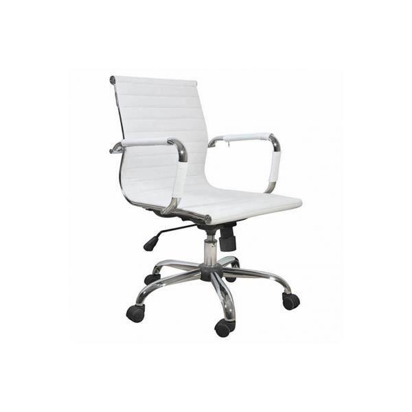 Fauteuil Achat Pu De Moderne Blanc Chaise Bureau Vente qSVpzUMG