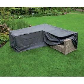 Housse de protection polyester pour canap d ext rieur 2x2 for Housse de protection jardin