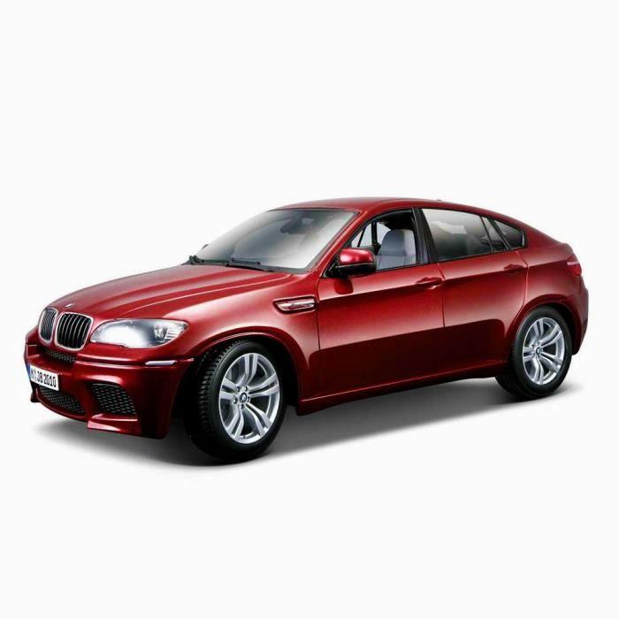mod le r duit de voiture berline bmw x6 m rouge echelle 1 18 achat vente voiture. Black Bedroom Furniture Sets. Home Design Ideas