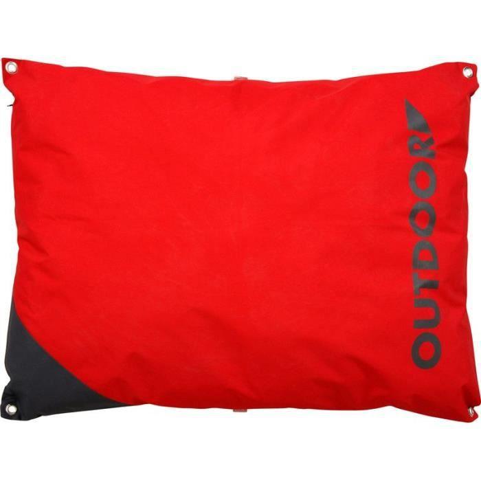 coussin chien outdoor d houssable imperm abilis t 110 cm rouge achat vente corbeille. Black Bedroom Furniture Sets. Home Design Ideas
