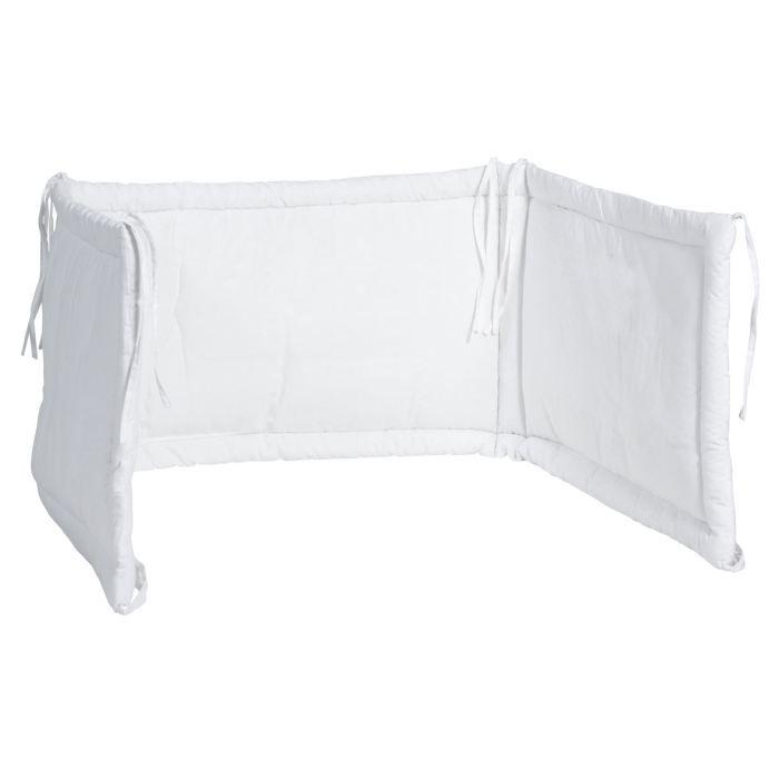 Jollein Tour de lit blanc Blanc - Achat / Vente tour de lit bébé ...