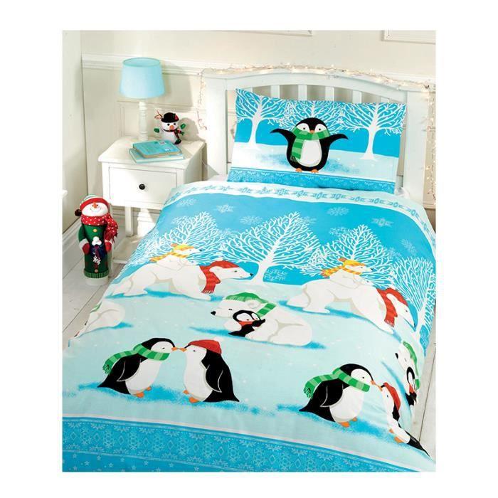 housse de couette pingouin achat vente housse de. Black Bedroom Furniture Sets. Home Design Ideas