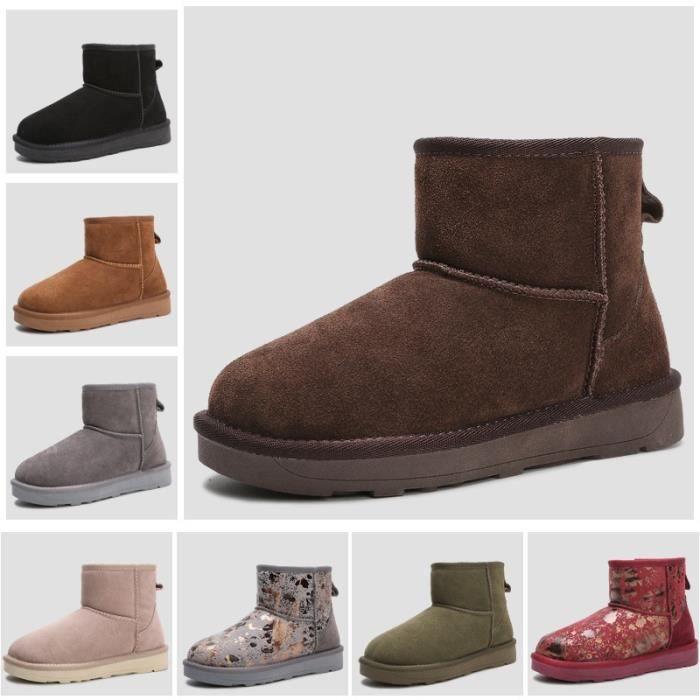 Neutral bottes de neige d'hiver des bottes en caoutchouc cheville marque dames de la mode chaussures d'hiver pas cher femmes bottes