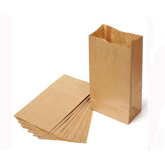 10 pcs petits kraft cadeaux en papier sacs vintage articles de f te sacs en papier brun xn - Petit sac en papier pour mariage ...