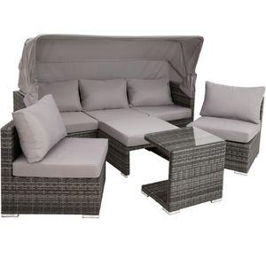 Table et chaise de jardin en aluminium - Achat / Vente Table ...