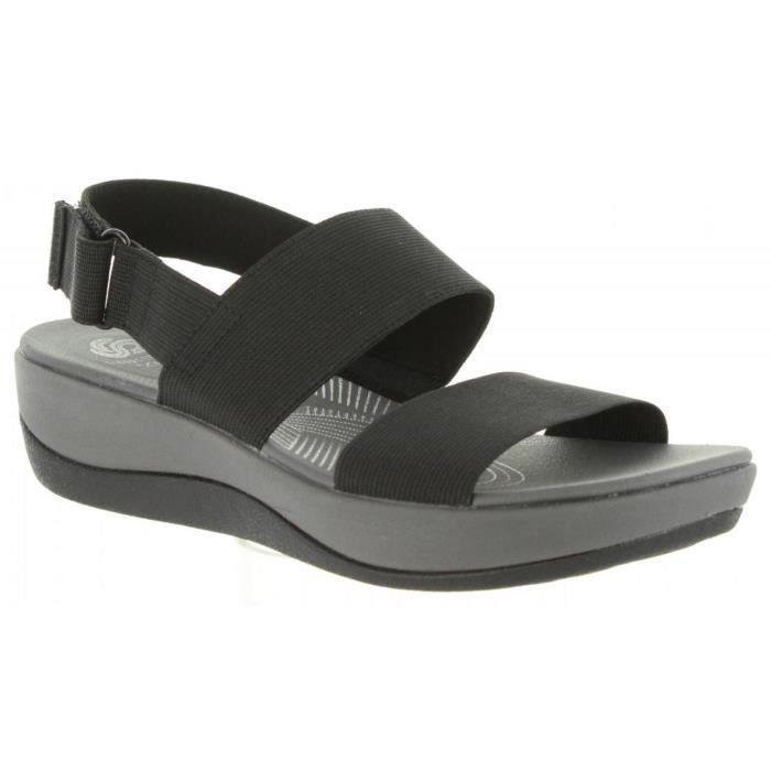 Sandales pour Femme CLARKS 26125603 ARLA BLACK 1Tv8kmHG