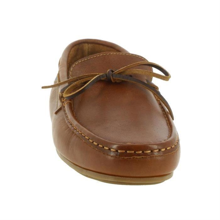 chaussures bateau 1311 homme himalaya 1311 43 Marron