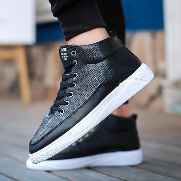 mode Chaussures Planche de à à Planche de mode roulettes Noir hommes Chaussures roulettes ngBfxz11