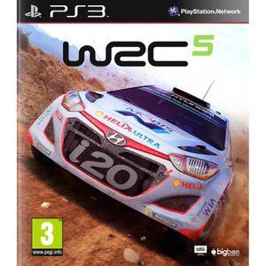 JEU PS3 WRC 5 Jeu PS3