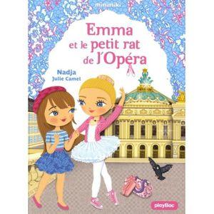 Livre 6-9 ANS Emma et le petit rat de l'Opéra