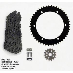 Kit chaîne pour Yamaha Dtr Trail 50 de 03-05