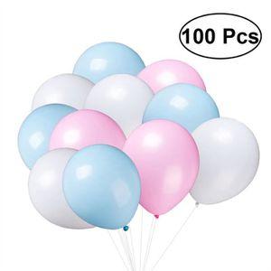 BALLON DÉCORATIF  100 Pcs Latex Ballon 10 Pouces Épaissir Coloré Cér