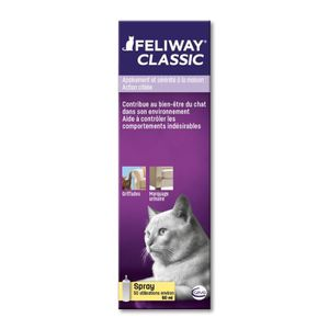 DIFFUSEUR BIEN-ÊTRE FELIWAY Spray anti-stress 60 ml - Pour chat