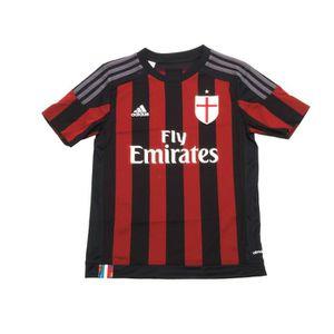 T-SHIRT MAILLOT DE SPORT Maillot de football Milan maillot jr