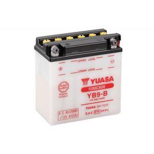 BATTERIE VÉHICULE Batterie YUASA YB9-B conventionnelle
