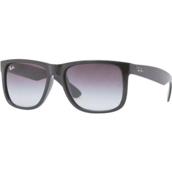 RAY BAN Lunettes de soleil Homme Modèle RB4165 601 8G - Monture en  propionate Noir - Verres gris dégradés Noir - Achat   Vente lunettes de  soleil Homme - ... 26c25d8f11c1