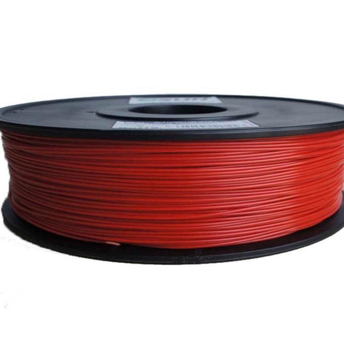ESUN Filament pour Imprimante 3D HIPS - Rouge - 3 mm - 1kg