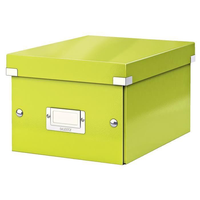 LEITZ Boîte de Rangement Click & Store A5 Vert