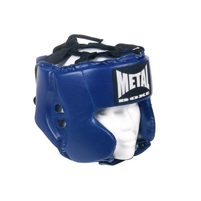 METAL BOXE Casque Entraînement - Enfant - Bleu