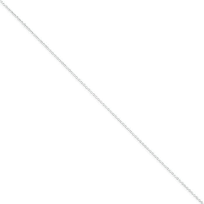 Argent Fin 1 mm câble chaîne collier 20 pouces