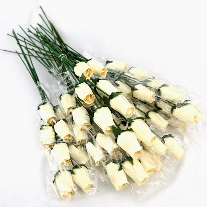 Roses en bois deco mariage achat vente roses en bois deco mariage pas cher soldes d s le - Soldes decoration mariage ...