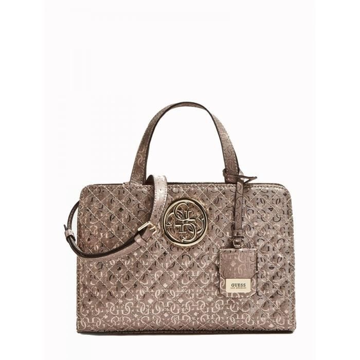040f915467 Guess - Sac à main bandoulière Gioia (hwmg69 89060) pewter taille 20 ...