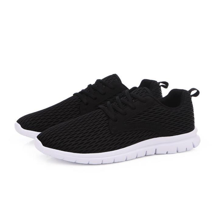 Marque Noir De Meilleure Hommes Confortable 38 gris Qualité 46 Respirant Sport Plus Luxe Sneaker Homme bleu Taille Baskets Chaussures aSxHHqEw