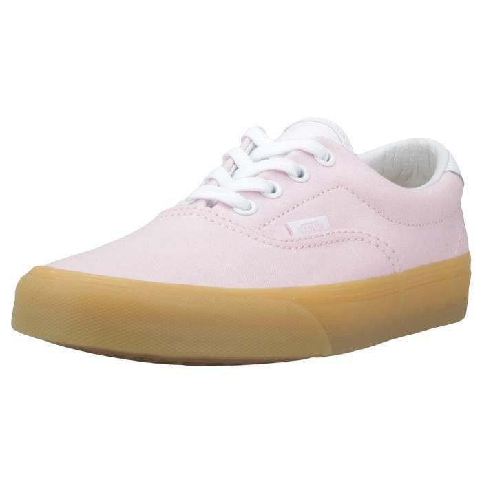 b0ac4ee689 Vans Era 59 Double Light Gum Femmes Baskets Rose - 6 UK Rose Rose ...